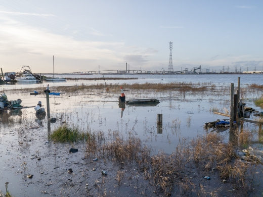 The Thames near Ebbsfleet