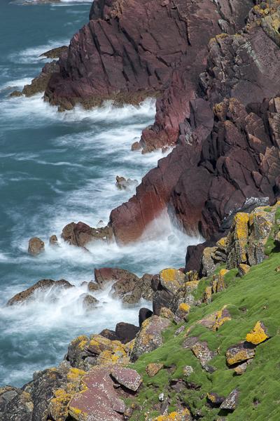 Skokholm Island, Pembrokeshire. (5 secs. @ f16)