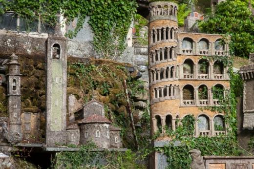 Private garden, Corris