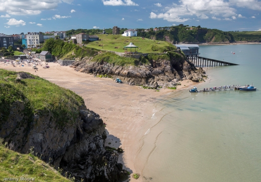 Tenby from St. Catherine's Island