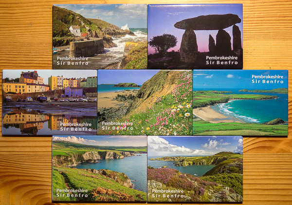 Pembrokeshire fridge magnets