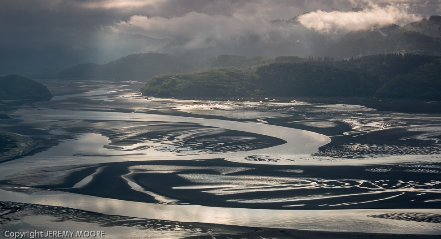 Mawddach estuary at 7 am.