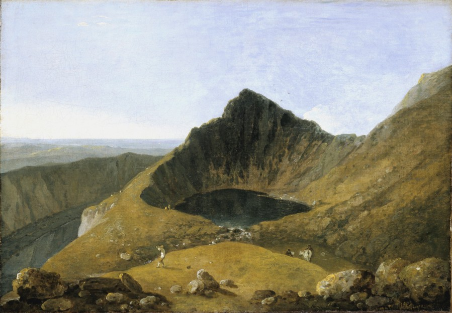Llyn-y-Cau by Richard Wilson, painted in 1774.
