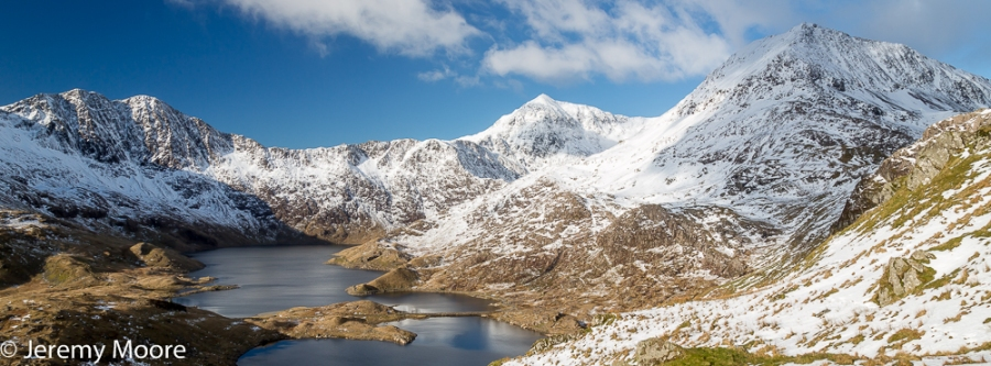 Snowdon summit and Y Lliwedd