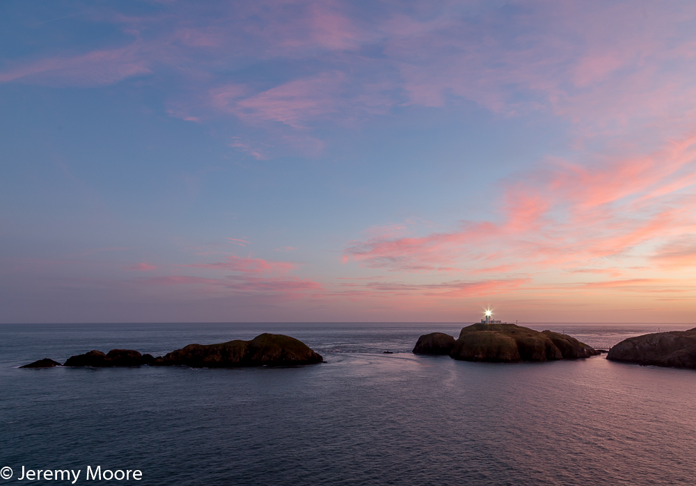 Strumble Head lighthouse, Pembrokeshire.