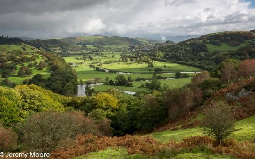 Dyfi valley, near Machynlleth
