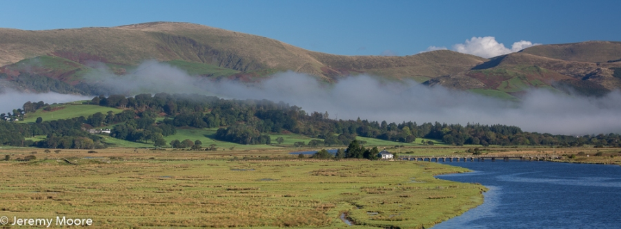 Valley fog, Dyfi estuary