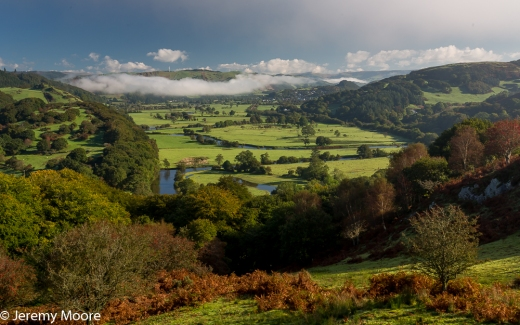 Dyfi valley, near Machynlleth